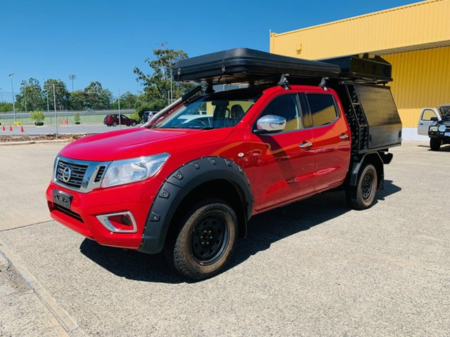Used Nissan Navara D23 S2 RX Canning Vale, 2016 Nissan Navara D23 S2 RX Red/Black 7 Speed Sports Automatic Cab Chassis