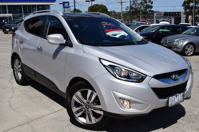 Used Hyundai ix35 LM3 MY15 Highlander AWD Ferntree Gully, 2015 Hyundai ix35 LM3 MY15 Highlander AWD Silver 6 Speed Sports Automatic Wagon