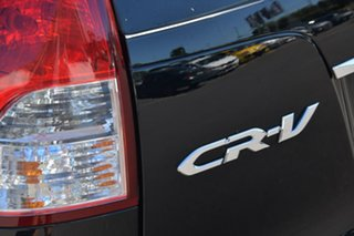 2013 Honda CR-V RM VTi-L 4WD Black 5 Speed Automatic Wagon