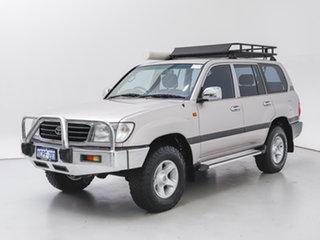 1999 Toyota Landcruiser HZJ105R GXL (4x4) Silver, Chrome 5 Speed Manual 4x4 Wagon.