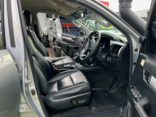 2015 Toyota Hilux GUN126R SR5 Double Cab Silver 6 Speed Sports Automatic Utility
