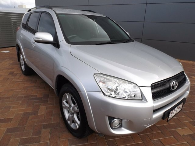 Used Toyota RAV4 ACA38R MY11 Cruiser 4x2 Toowoomba, 2011 Toyota RAV4 ACA38R MY11 Cruiser 4x2 Silver 5 Speed Manual Wagon