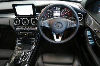 2018 Mercedes-Benz C-Class W205 808MY C350 e 7G-Tronic + Silver 7 Speed Sports Automatic Sedan