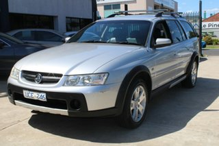 2006 Holden Adventra VZ CX6 Silver 5 Speed Automatic Wagon