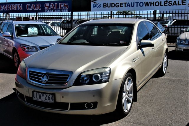 Used Holden Statesman WM Cheltenham, 2006 Holden Statesman WM Fawn 6 Speed Sports Automatic Sedan
