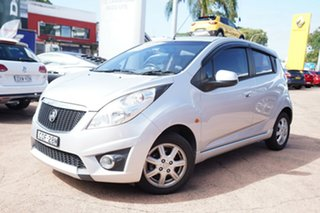 2010 Holden Barina TK MY11 Silver 5 Speed Manual Hatchback.