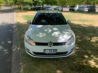 2015 Volkswagen Golf VII MY15 90TSI White 6 Speed Manual Hatchback.