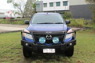 2013 Mazda BT-50 UP0YF1 XT Blue 6 Speed Sports Automatic Utility.