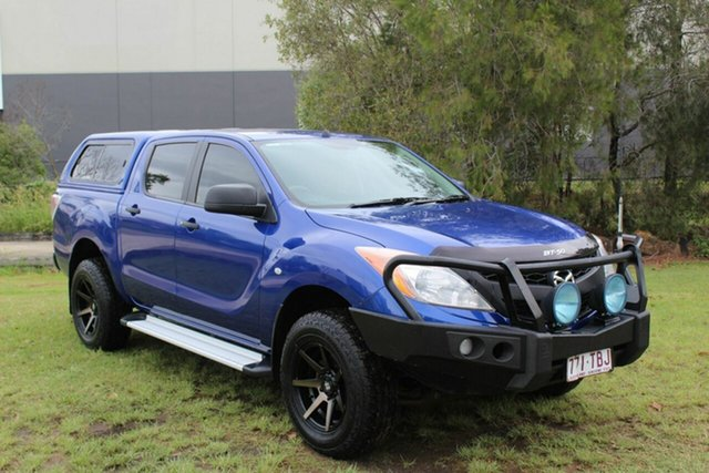 Used Mazda BT-50 UP0YF1 XT Ormeau, 2013 Mazda BT-50 UP0YF1 XT Blue 6 Speed Sports Automatic Utility