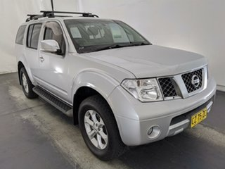 2008 Nissan Pathfinder R51 MY08 ST-L Silver 5 Speed Sports Automatic Wagon.