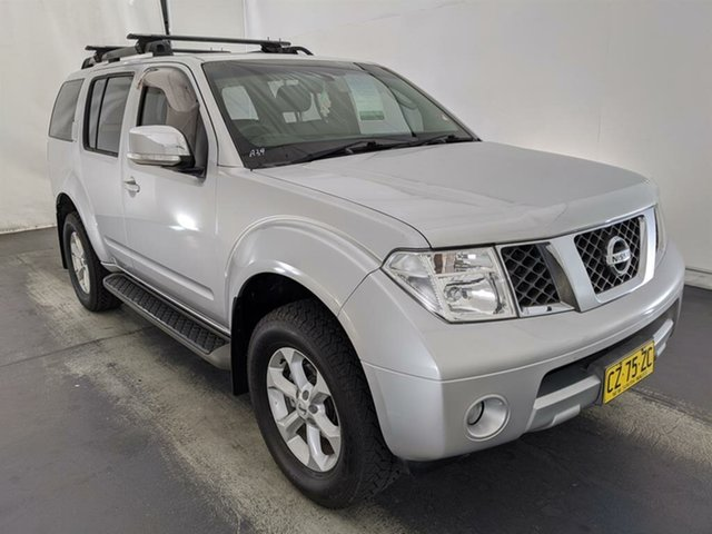 Used Nissan Pathfinder R51 MY08 ST-L Maryville, 2008 Nissan Pathfinder R51 MY08 ST-L Silver 5 Speed Sports Automatic Wagon