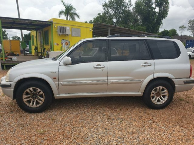 Used Suzuki Grand Vitara Holtze, 2004 Suzuki Grand Vitara Silver 4 Speed Automatic Wagon