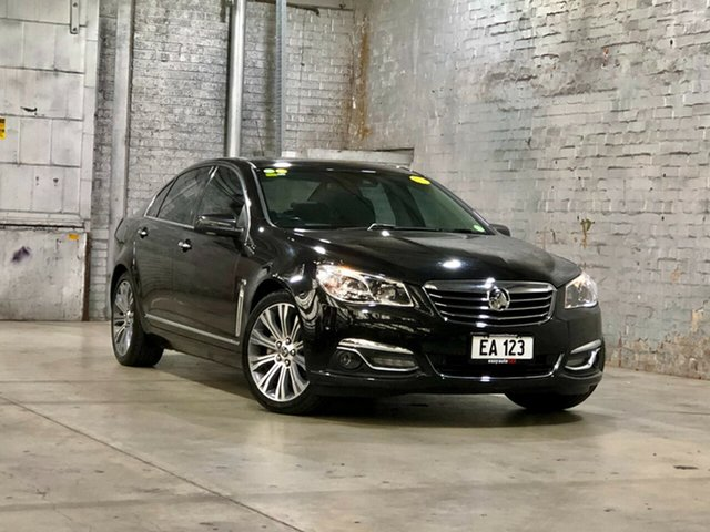 Used Holden Calais VF MY14 V Mile End South, 2014 Holden Calais VF MY14 V Black 6 Speed Sports Automatic Sedan