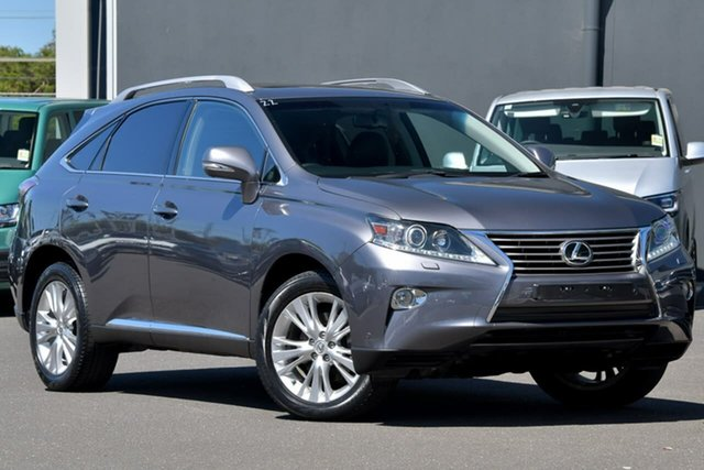 Used Lexus RX GGL15R MY12 RX350 Luxury Moorabbin, 2013 Lexus RX GGL15R MY12 RX350 Luxury Grey 6 Speed Sports Automatic Wagon