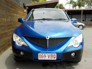2010 Ssangyong Actyon Sports 100 Series MY08 Sports Blue 6 Speed Automatic Utility