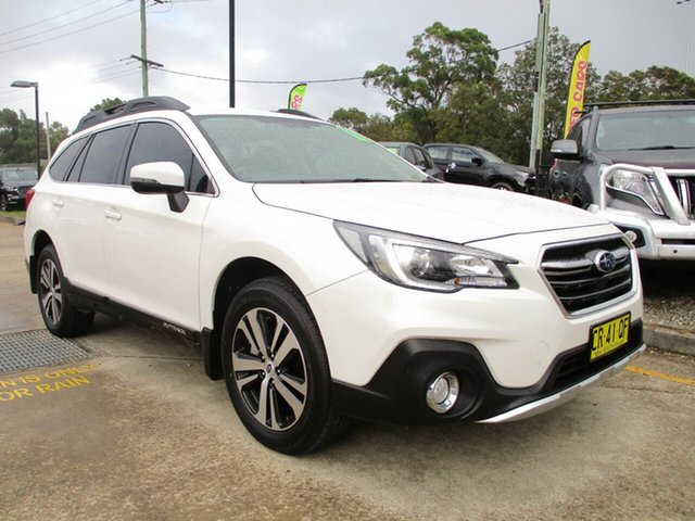 Used Subaru Outback B6A MY18 2.5i CVT AWD Glendale, 2018 Subaru Outback B6A MY18 2.5i CVT AWD White 7 Speed Constant Variable Wagon
