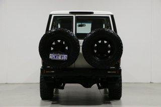 2012 Toyota Landcruiser VDJ76R 09 Upgrade Workmate (4x4) White 5 Speed Manual Wagon