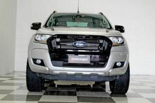 2017 Ford Ranger PX MkII MY18 FX4 Special Edition Silver 6 Speed Automatic Double Cab Pick Up