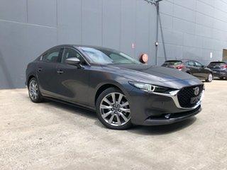 2020 Mazda 3 BP2SLA G25 SKYACTIV-Drive Astina Machine Grey 6 Speed Sports Automatic Sedan.