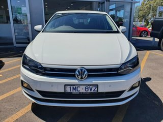2019 Volkswagen Polo AW MY19 85TSI DSG Comfortline White 7 Speed Sports Automatic Dual Clutch.