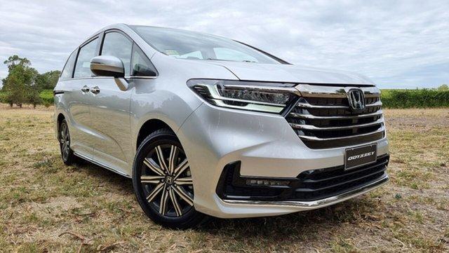 Demo Honda Odyssey RC 21YM Vi L7 Tanunda, 2020 Honda Odyssey RC 21YM Vi L7 Super Platinum 7 Speed Automatic Wagon