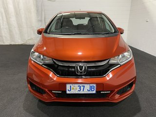 2017 Honda Jazz GF MY17 VTi Orange 1 Speed Constant Variable Hatchback.