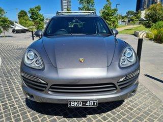 2015 Porsche Cayenne 92A MY15 Diesel Tiptronic White 8 Speed Sports Automatic Wagon.