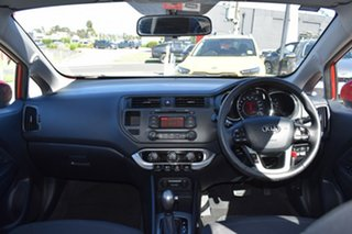 2012 Kia Rio UB MY12 SLi Red/Black 6 Speed Sports Automatic Hatchback