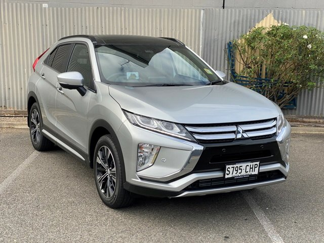 Demo Mitsubishi Eclipse Cross YA MY20 Exceed 2WD Morphett Vale, 2020 Mitsubishi Eclipse Cross YA MY20 Exceed 2WD Sterling Silver 8 Speed Constant Variable Wagon
