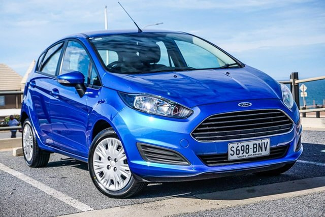Used Ford Fiesta WZ Ambiente PwrShift Christies Beach, 2016 Ford Fiesta WZ Ambiente PwrShift Blue 6 Speed Sports Automatic Dual Clutch Hatchback