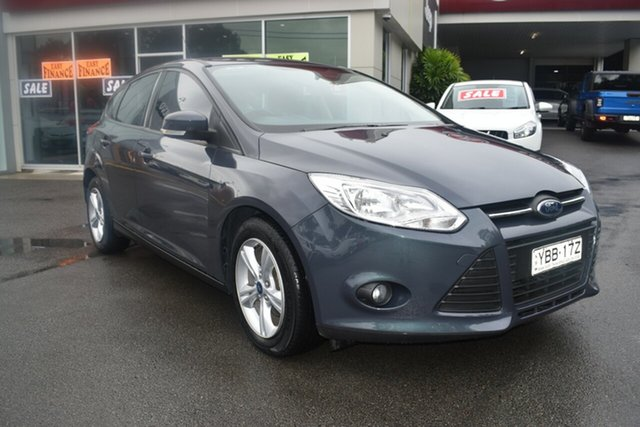 Used Ford Focus LW MkII MY14 Trend PwrShift Gosford, 2014 Ford Focus LW MkII MY14 Trend PwrShift Blue 6 Speed Sports Automatic Dual Clutch Hatchback