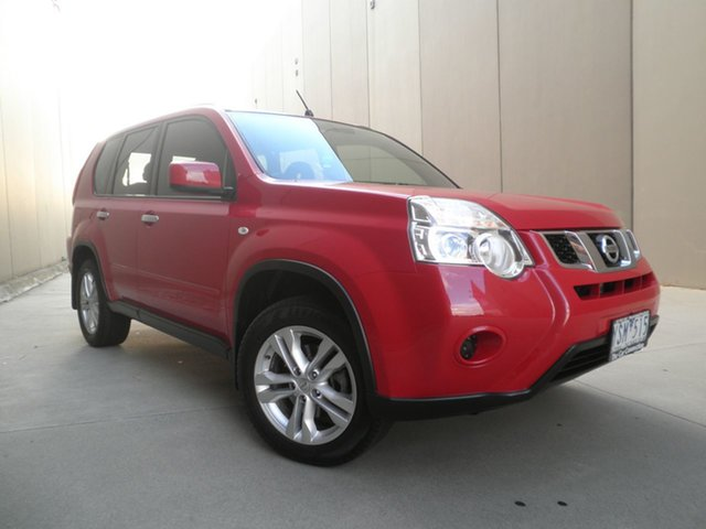 Used Nissan X-Trail T31 Series IV ST 2WD Cheltenham, 2011 Nissan X-Trail T31 Series IV ST 2WD Burning Red 1 Speed Constant Variable Wagon