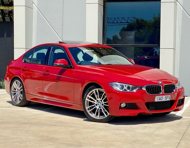 Used BMW 320d F30 MY0813 320d Templestowe, 2014 BMW 320d F30 MY0813 320d Red 8 Speed Sports Automatic Sedan
