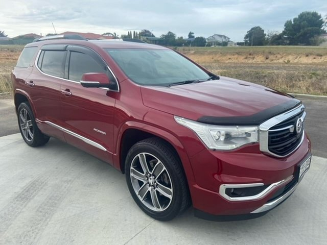 Used Holden Acadia AC MY19 LTZ-V 2WD Victor Harbor, 2018 Holden Acadia AC MY19 LTZ-V 2WD Red 9 Speed Sports Automatic Wagon