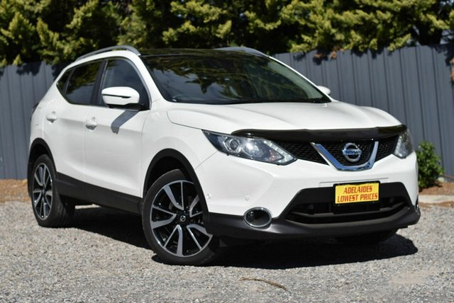 Used Nissan Qashqai J11 TL Morphett Vale, 2017 Nissan Qashqai J11 TL White 1 Speed Constant Variable Wagon