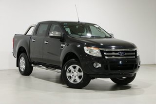2015 Ford Ranger PX XLT 3.2 (4x4) Black 6 Speed Automatic Double Cab Pick Up.