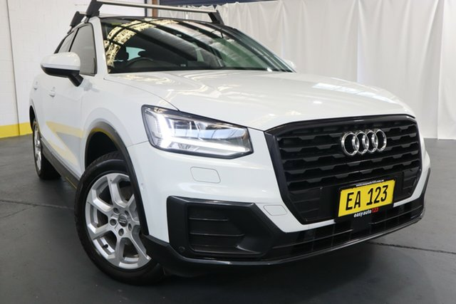 Used Audi Q2 GA MY18 design S Tronic Castle Hill, 2017 Audi Q2 GA MY18 design S Tronic White 7 Speed Sports Automatic Dual Clutch Wagon
