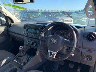 2013 Volkswagen Amarok 2H MY13 TDI400 (4x4) White 6 Speed Manual Dual Cab Utility