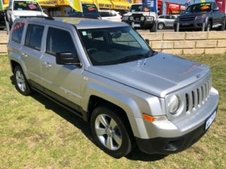 2014 Jeep Patriot MK MY14 Sport CVT Auto Stick 4x2 Silver 6 Speed Constant Variable Wagon.