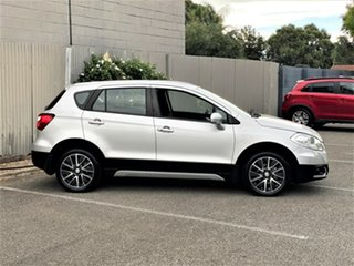 2014 Suzuki S-Cross JY GLX Silver 7 Speed Constant Variable Hatchback.