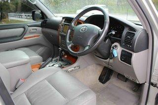 2006 Toyota Landcruiser UZJ100R Sahara Silver 5 Speed Automatic Wagon
