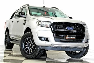 2017 Ford Ranger PX MkII MY18 FX4 Special Edition Silver 6 Speed Automatic Double Cab Pick Up.