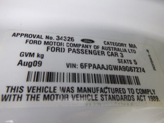 2009 Ford Falcon BF Mk III XT White Sports Automatic Wagon