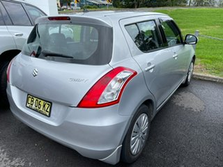 2014 Suzuki Swift FZ MY14 GL Silver 4 Speed Automatic Hatchback.