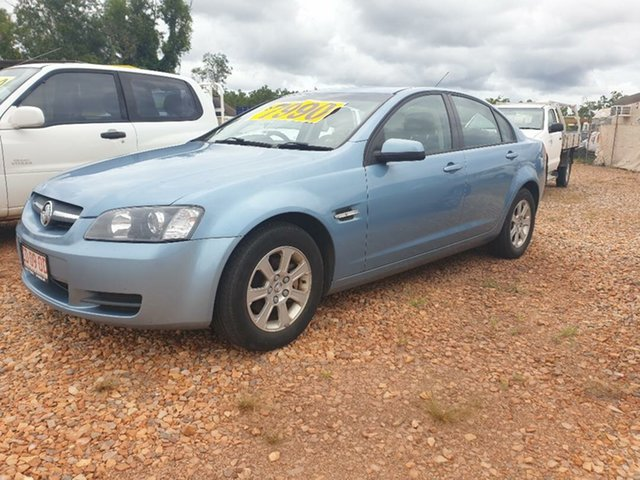 Used Holden Commodore Holtze, 2008 Holden Commodore Blue 4 Speed Automatic Sedan