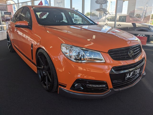 Used Holden Commodore Epsom, 2014 Holden Commodore SSV REDLIN Orange 6 Speed Manual Sedan