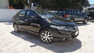 2010 Honda City GM MY10 VTi-L Black 5 Speed Automatic Sedan.