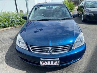 2006 Mitsubishi Lancer CH MY07 ES Blue 4 Speed Sports Automatic Sedan.