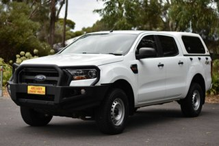 2017 Ford Ranger PX MkII 2018.00MY XLT Double Cab 4x2 Hi-Rider White 6 Speed Manual Utility.