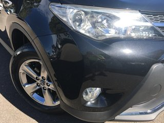 2014 Toyota RAV4 ZSA42R MY14 GXL 2WD Black 7 Speed Constant Variable Wagon.
